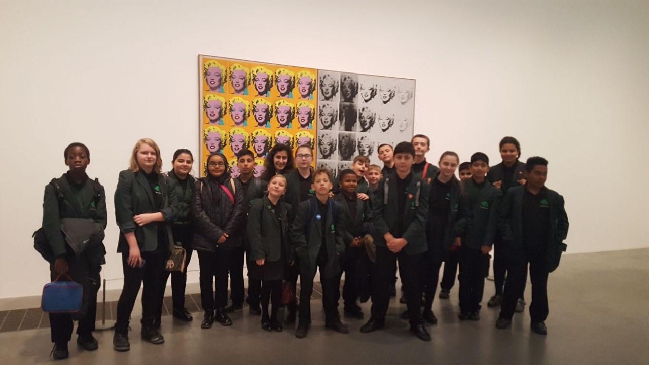 Greatfields School Trip To The Tate Modern Gallery